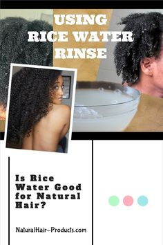Is rice water good for natural hair? You're smart to ask because... ...in the past, you may have only thought about rice as food, it's actually a lot more though. It's also a great hair growth, skin and beauty product. Rice water for hair is very popular in China and Japan as a growth, health and strengthening aid, it's been a staple for hundreds of years. Herbs For Hair Growth, Natural Hair Growth Tips, Natural Hair Regimen, Natural Hair Journey, Natural Hair Styles, African Herbs, Hair Health, Great Hair