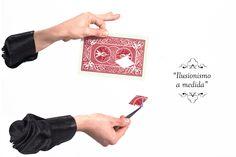 """""""Ilusionismo a medida"""". Desde la agencia de magia Tumago personalizamos al 100% todas nuestras rutinas mágicas para que desees lo que desees, siempre acabes satisfecho con nuestro trabajo. www.tumago.com"""