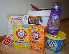 make your own detergent for about 30 bucks a year - smells great and doesn't use a ton of suds