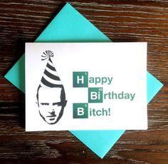 Breaking Bad Jesse Pinkman Happy Birthday Card