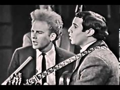 Simon  Garfunkel - Sounds Of Silence Live Canadian TV, 1966
