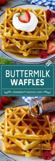 The Rise Of Private Label Brands In The Retail Meals Current Market Buttermilk Waffles Recipe Homemade Waffles Breakfast Waffles, Egg Recipes For Breakfast, Breakfast Dishes, Breakfast Ideas, Pancakes, Homemade Breakfast, Breakfast Time, Homemade Waffles, Homemade Buttermilk