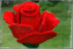 Rose LEGO #Flower #LEGO
