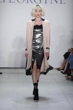 Georgine September 2016 at New York Fashion Week. #NYFW