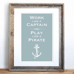 Fancy - Work Like a Captain Play Like a Pirate