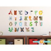 Found it at Wayfair - Alphabet Fabric Wall Decal