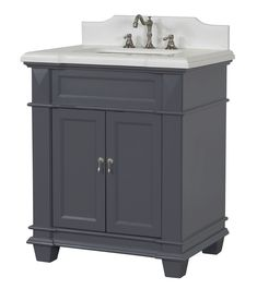 30 Inch Bathroom Vanity, 30 Inch Vanity, 30 Vanity, Master Bath Vanity, Vanity Cabinet, Small Bathroom Vanities, Traditional Small Bathrooms, Traditional Bathroom Cabinets, Grey Bathroom Cabinets
