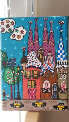 OLYMPUS DIGITAL CAMERA Art Drawings For Kids, Pencil Art Drawings, Easy Drawings, Art For Kids, Psychedelic Art, Scrapbooking Image, Vacation Scrapbook, 3rd Grade Art, Madhubani Painting