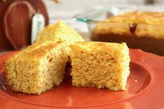 Sweet Buttermilk Cornbread -  just as delicious at a summer barbecue as it is at Thanksgiving dinner.