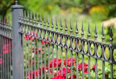 wrought iron fence designs. Unique Designs 32 Elegant Wrought Iron Fence Ideas And Designs Throughout N