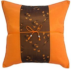 Sofa Cover Avarada Striped Mei Floral Flower Throw Pillow Cover Decorative Sofa Couch Cushion Cover Zippered x Inch