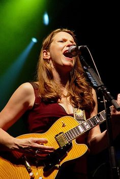Susan Tedeschi. She is the best
