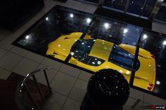 Ferrari Enzo in a hi-tech private garage