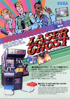 Collectibles Arcade Gaming Candid 1989 Sega Wrestle War Jp Video Flyer