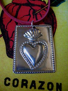 Mexican Milagro Heart