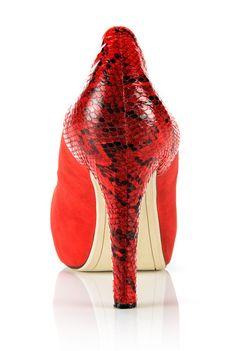 Designer Shoes, Footwear, Wedges, Heels, Red, Black, Heel, Shoe, Black People