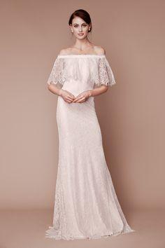 b572bd9d759 Tadashi Shoji Fall 2019 Bridal Fashion Show Collection  See the complete  Tadashi Shoji Fall 2019 Bridal collection.