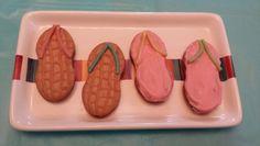 Teen Beach Movie - Flip flop cookies
