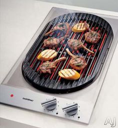 "Gaggenau VR230612 12"" Modular Electric Indoor Barbecue Grill with ..."