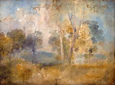 Joseph Mallord William Turner  The Thames Glimpsed between Trees, possibly at Kew Bridge circa 1806-7