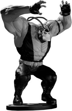 Following The Dark Knight Rises, Bane is more popular than ever before. Sure, Tom Hardy is pretty intimidating, but we think this Kelly Jones-designed statue really does the man who broke the bat justice.    Currently £89.99 (10% off!) on the FP International webstore: http://www.forbiddenplanet.co.uk/index.php?main_page=product_info_id=71278