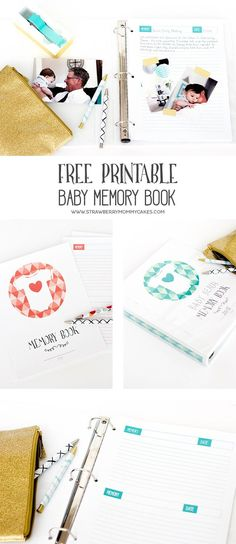 Keep track of all those memories from the first year with this Printable Baby Memory Book! You'll cherish this forever! Get more #FreePrintables at https://www.pinterest.com/hre/?utm_content=buffera3602&utm_medium=social&utm_source=pinterest.com&utm_campaign=buffer