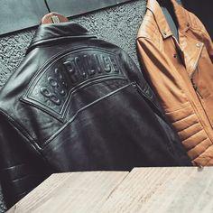 Leather Jackets to make you stylish and unique.. coming soon in 883 Police #883police #883 #883iron #883sportster #883policeindia #883policeinspire #883policeconceptstore #leather #leatherjacket #leathers #leatherjackets #style #unique #ruggedmaniac #rugged #harley #harleydavidson #industrialdesign #instagram #men #mens #mensfashion #menswear #menstyle
