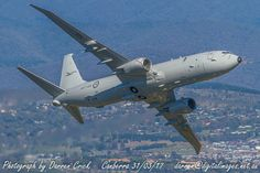 P-8 A47-001 overflys #Canberra on the #RAAF's 96th birthday #avgeek #aviation #photography #youradf #cbr #11sqn #11squadron Canon Australia