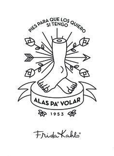 New tattoo ideas tatuajes frida kahlo 35 ideas Frida Tattoo, Frida Kahlo Tattoos, Baby Tattoos, Body Art Tattoos, New Tattoos, Alas Tattoo, Frida Kahlo Diego Rivera, Frida Art, Dark Tattoo
