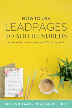 Looking back on our investments over time, we actually purchased Leadpages long before we even started paying for an email service provider. For some that may seem goofy, but for us it was strategic. With the power of Leadpages we have been able to grow our list by thousands and it didn't take any technical knowledge to make it happen.  Before I jump into how to set up my favorite aspect of Leadpages, let me first tell you about the different options available to you right out of the box…