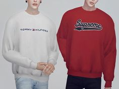 Clothing Top / Male (T-E) / 14 Color / 38 Detail / My mesh / All morphs / All LODs / Custom thumbnails Found in TSR Category 'Sims 4 Male Everyday'