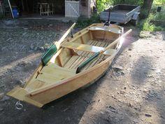 překližkový člun