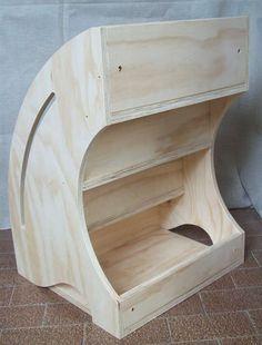 Libreria montessoriana da parete, librerie personalizzabili per bambini, mobili per bambini, mobili montessori, mobili in legno. #montessori #metodomontessori #mobilimontessori #malerbart