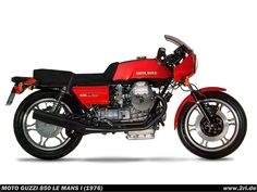 Moto Guzzi 850 Le Mans I (1976)