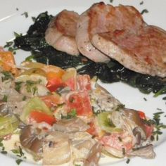 szűzpecsenye receptek | NOSALTY Pork, Meat, Chicken, Kale Stir Fry, Pork Chops, Cubs