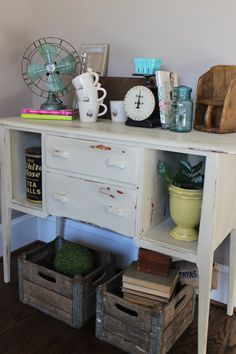 Shabby Chic Console Table