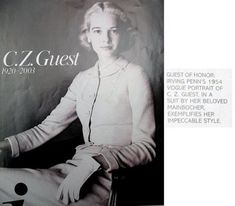 cornelia guest dogs | CJ..style notes...: C.Z. Guest: Understated Elegance