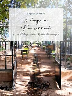Franschhoek makes for a wonderful addition to your South Africa itinerary. Here's a quick guide to spending 2 days in Franschhoek. Croatia Travel, Thailand Travel, Italy Travel, Bangkok Thailand, Las Vegas Hotels, Nightlife Travel, Africa Travel, Hawaii Travel, Holiday Travel