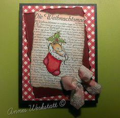Annes Werkstatt: Weihnachtsmaus