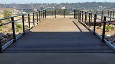 Fused bamboo decking from dasso.XTR in Civita Park in California