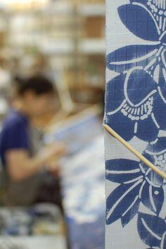 Indigo panel #craft