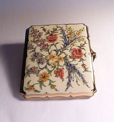 Rare vintage Stratton cigarette case BOXED door Vintageandantiques12