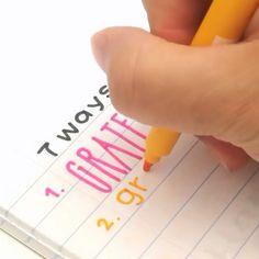 Japanese Pentel Calligraphy Pen-6/12 Pcs Caligraphy Pen, Calligraphy Handwriting, Bullet Journal Font, Bullet Journal Ideas Pages, Alphabet Video, Bleach Pen, Hand Lettering Tutorial, Beautiful Lettering, Pen Design