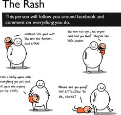 How to suck on facebook... Thankfully I think the only one I'm guilty of is the tagging one! haha