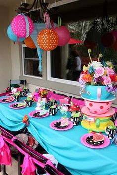 Alice Party Table Setting