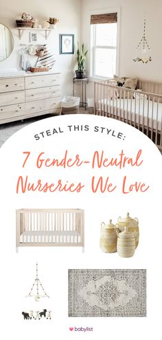Seven distinctly different inspirations to help you decorate your dream baby nursery. #nurseryinspiration #inspo -- You can add anything to your baby registry with Babylist. Literally anything - even Etsy items, baby sitting, or home-cooked meals! It's easy, beautiful & free. Babylist works just like Pinterest. Simple enough for the grandparents-to-be too. For a limited time get a free* welcome box. * * * With minimum of $10 purchase. Shipping and handling not included. Restrictions apply. Baby Room Decor, Nursery Room, Girl Nursery, Bedroom, Nursery Inspiration, Nursery Ideas, Nursery Themes, Nursery Decor, Room Ideas