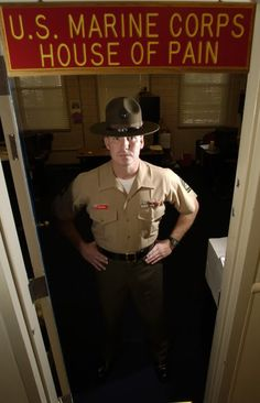 Drill Instructor-my husband was a D.I. at Parris Island, S.C. 2nd Batallion, F Company-1981-1984.