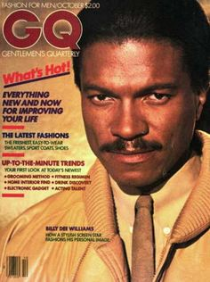 """Billy Dee Williams is an American actor, artist, singer, and writer. And here he is as urbane and as suave as they come. ELEMENTS OF STYLE contd. …archival imagery in """"Elements of Style,"""" then reading an interview with a … read more → Black Actors, Black Celebrities, Celebs, Gq Magazine Covers, Billy Dee Williams, Black Magazine, Life Magazine, Vintage Black Glamour, African American History"""