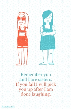 #FeelAllBranNew Quotable Quotes, Your Smile, You And I, Sisters, Things To Come, Illustrations, Play, Signs, Comics