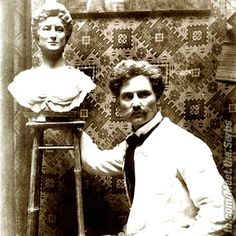 """Serbian sculptor ĐORĐE JOVANOVIĆ He was full member of Serbian Academy of Sciences and Arts. In 1889, at the World Exhibition in Paris, he won a prize for his work """"The Gusle"""" and then, at the World Exhibition in Paris in 1900, he won the golden medal for the Monument to Kosovo heroes"""